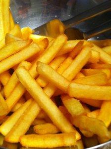 gebakken frietjes