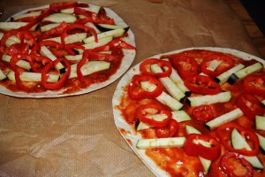 Pizza zonder